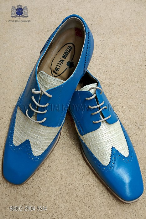 "Sky blue ""Golf"" shoes"