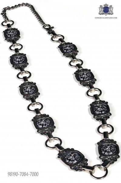 Gunmetal grey belt
