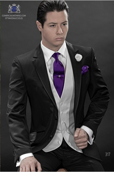 Italian black men wedding suit suit