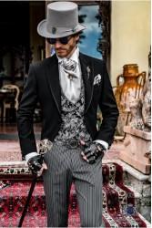 Steampunk wedding suits