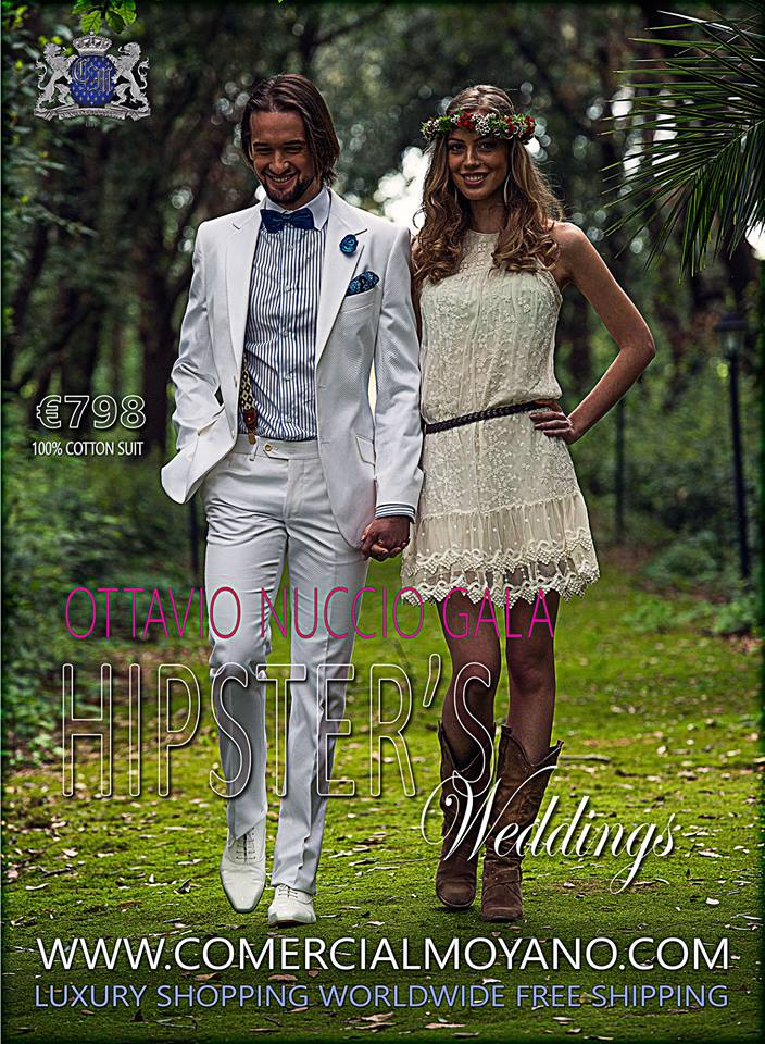 Groom suits for a countryside or beach wedding