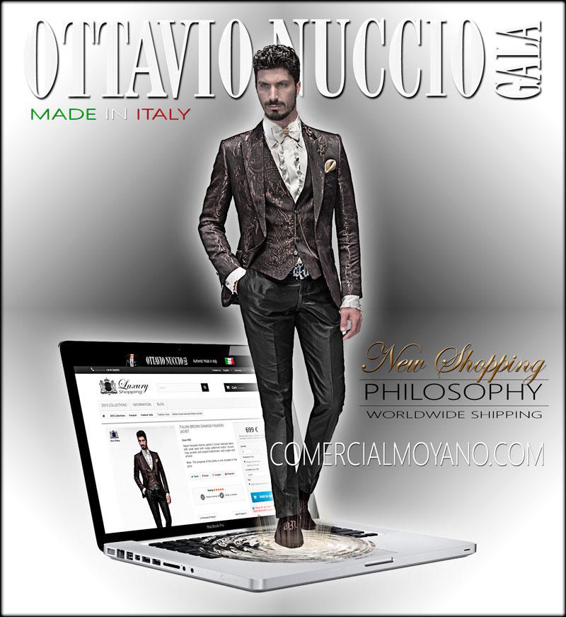 893855c2d9 Italian wedding suits Ottavio Nuccio Gala - Comercial Moyano