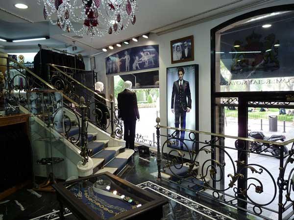 Men wedding suits official store italian firm Ottavio Nuccio Gala, Pavía street 2