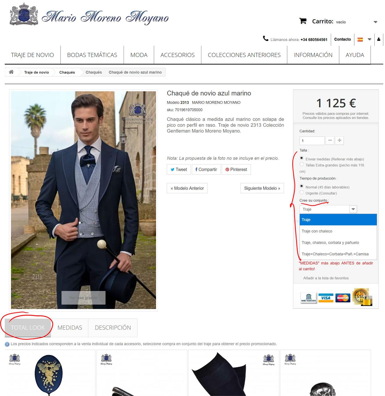 Ayuda en la compra del total look